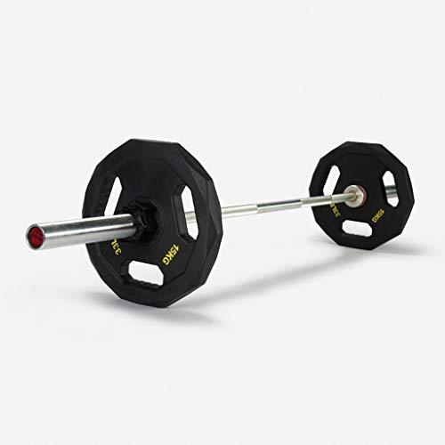 Placa barra de pesas olímpico de los pesos de 51 mm de abertura de peso for gimnasia entrenamiento de la fuerza de ejercicio físico Trabajar el hombre 5 kg / 10 kg / 15 kg / 20 kg / 25 KG individual