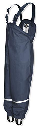 Playshoes Regenlatzhose, Pantalones para Niños, Azul (Marino), 9-10 años/140 cm