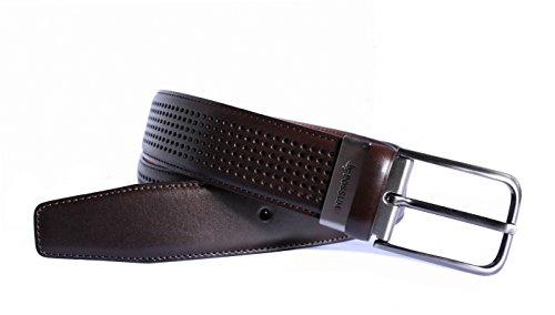 Possum 10024 Cinturón, Marrón (Marrón 002), 105 (Tamaño del fabricante:105) para Hombre