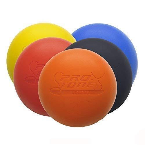 PROTONE Lacrosse Bola para Punto de activación Masaje/rehabilitación/Fisioterapia/Crossfit (Azul)
