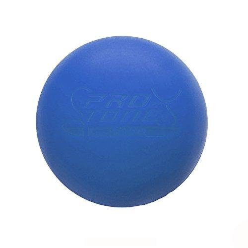 PROTONE Lacrosse Bola para Punto de activación Masaje/rehabilitación/Fisioterapia/Crossfit (Naranja)