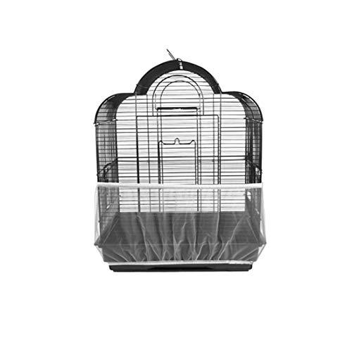 Providethebest Malla Receptor de Semillas Guardia Aves Loro Cubierta Fácil Limpieza en la Jaula de pájaro de la Sombra de Tela de Shell