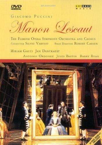 Puccini, Giacomo - Manon Lescaut [Alemania] [DVD]