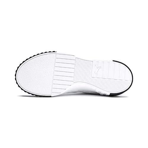 PUMA Cali WN'S, Zapatillas para Mujer, Blanco White Black, 39 EU