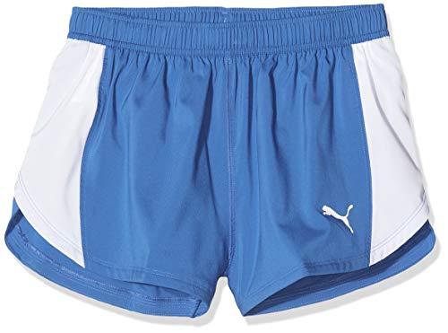 PUMA Cross The Line Split Short Pantalones Cortos, Hombre, Team Power Blue, M