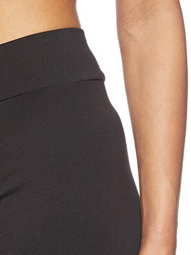 PUMA Essentials Logo W Legging Deportivo de Talle Alto, Mujer, Negro (Cotton Black), M