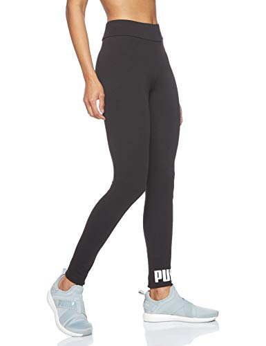 PUMA Essentials Logo W Legging Deportivo de Talle Alto, Mujer, Negro (Cotton Black), XL