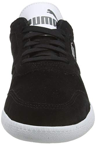 PUMA ICRA Trainer SD, Zapatillas para Hombre, Negro (Black/White), 42 EU