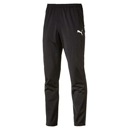 Puma Liga Training Pant Core Pantalones, Hombre, Negro Negro Blanco, S
