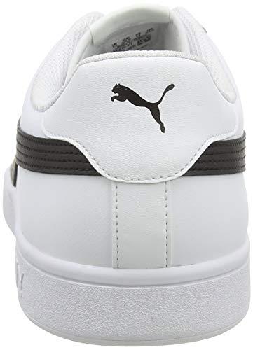 PUMA Smash V2 L, Zapatillas para Hombre, Blanco White Black, 42 EU