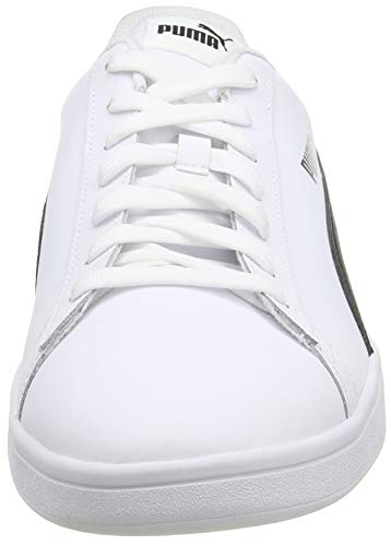 PUMA Smash V2 L, Zapatillas para Hombre, Blanco White Black, 43 EU