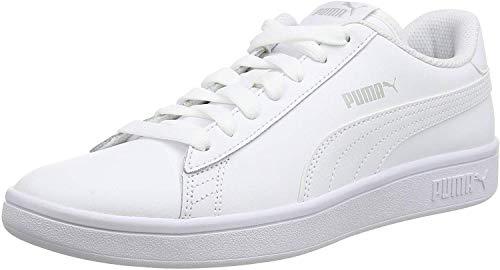 PUMA Smash V2 L, Zapatillas para Hombre, Blanco White White, 42 EU