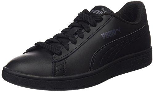 PUMA Smash V2 L, Zapatillas para Hombre, Negro Black Black, 45 EU