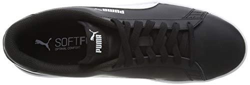 PUMA Smash V2 L, Zapatillas para Hombre, Negro Black White, 43 EU