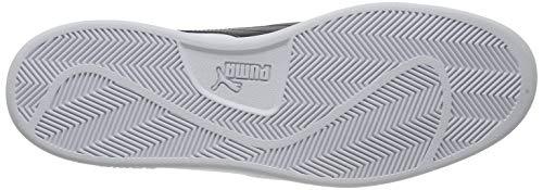 PUMA Smash V2 L, Zapatillas Unisex-Adulto, Blanco White Black, 40 EU