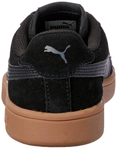PUMA Smash V2, Zapatillas para Hombre, Negro Black Black, 37 EU