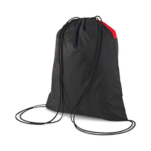 PUMA teamGOAL 23 Gym Sack Bolsa De Cuerdas, Unisex-Adult, Red Black, OSFA