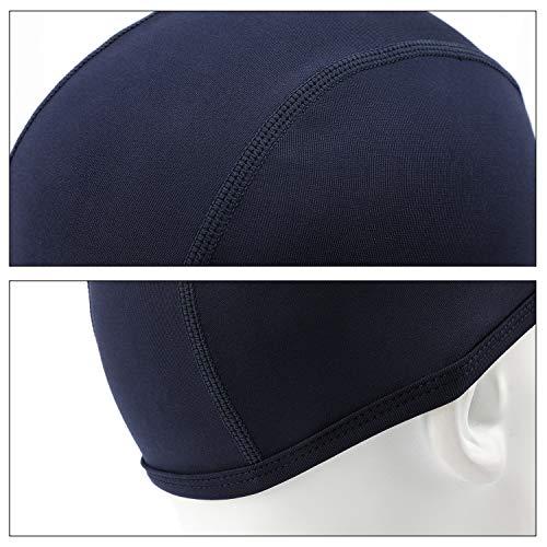 QKURT Ciclismo Skull Cap, 2pcs Respirable Verano Sombrero de Casco Correr Hat Gorra Calavera Ciclismo Gorro Deportivo