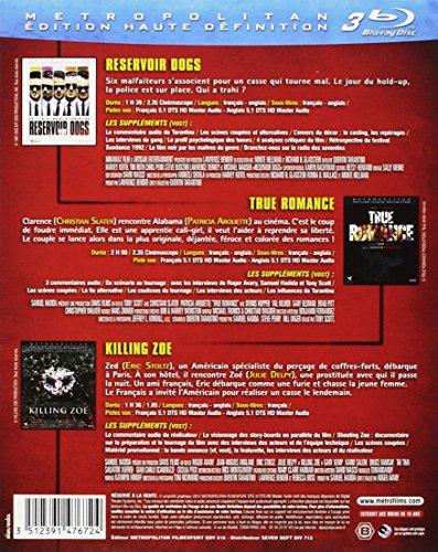 Quentin Tarantino : Reservoir Dogs + True Romance + Killing Zoe [Francia] [Blu-ray]
