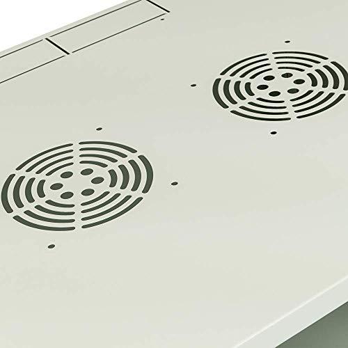 "RackMatic - Armario Rack 19"" Mural de 6U Blanco SOHOrack 540x450x312 mm"