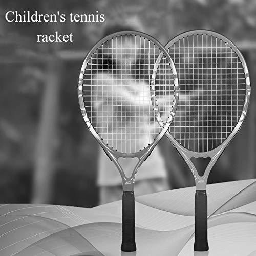 Raqueta de tenis Raquetas De Deportes De Ocio Adulto Entrenamiento Hombres Y Mujeres Principiantes Raquetas Indumentaria (Color : Pink, Size : 19inches)