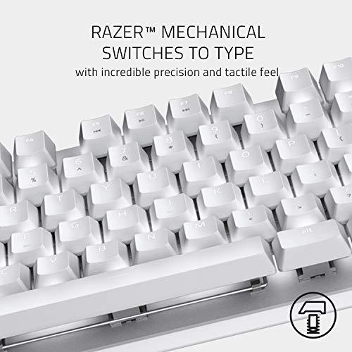 Razer BlackWidow -  Teclado para gaming (switches mecánicos, diseño compacto con cable extraíble, teclas retroiluminadas individualmente) US layout