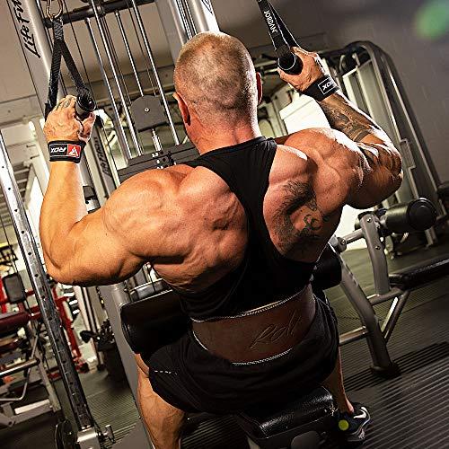 """RDX Gimnasio Cinturón Cuero 6"""" Musculacion Peso Entrenamiento Cinturones Pesas Levantamiento"""