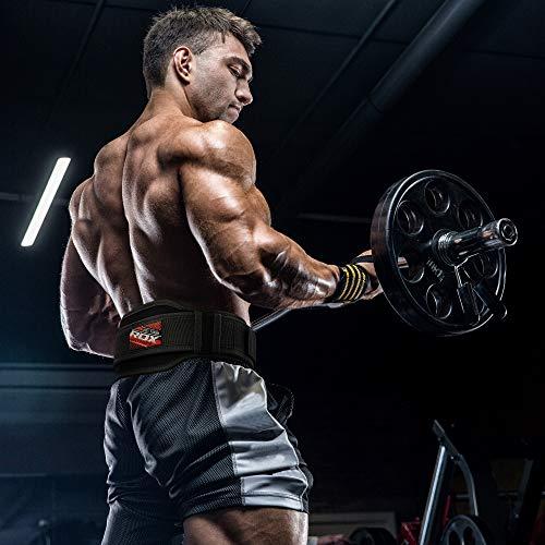 RDX Gimnasio Cinturón Ejercicio Musculacion Entrenamiento Pesas Cinturones Levantamiento