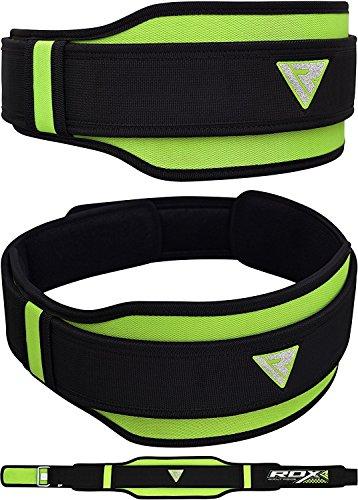 RDX Gimnasio Cinturón Peso Musculacion Neopreno Entrenamiento Cinturones Pesas Levantamiento