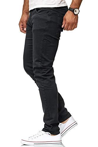 Redbridge Vaqueros Hombres Pantalones Denim Colored Slim Fit Negro W34 L32