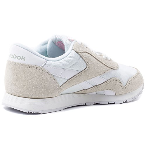 Reebok 6394, Zapatillas de Trail Running para Mujer, Blanco (Blanco (White /         Light Grey), 40 EU