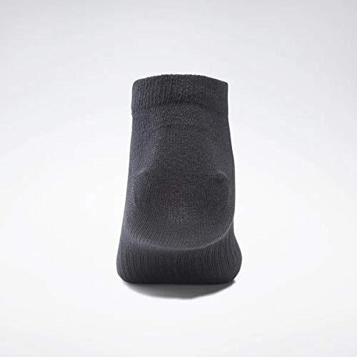 Reebok Act Core Inside Sock 6P Calcetines, Unisex Adulto, Negro, XL