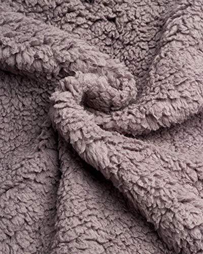 Reebok - Chaqueta acolchada para mujer, totalmente reversible a forro de piel Sherpa, Large, Negro