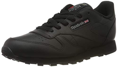 Reebok Classic Leather 50149, Zapatillas Unisex Adulto, Negro Black, 36 EU