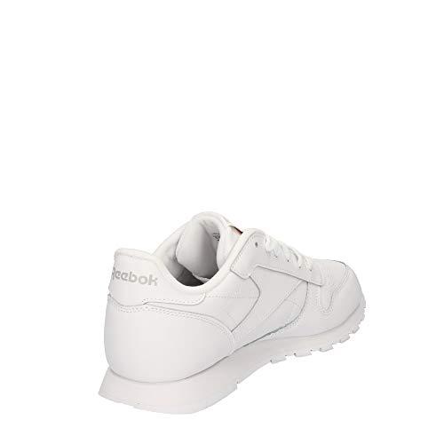 Reebok Classic Leather, Zapatillas de Running Niños, Blanco (White), 34.5 EU