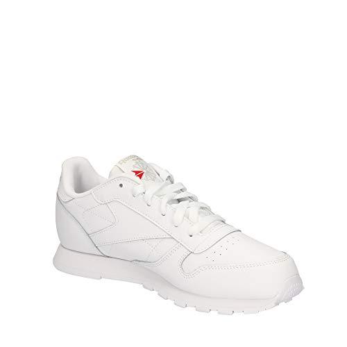 Reebok Classic Leather, Zapatillas de Running Niños, Blanco (White), 36.5 EU