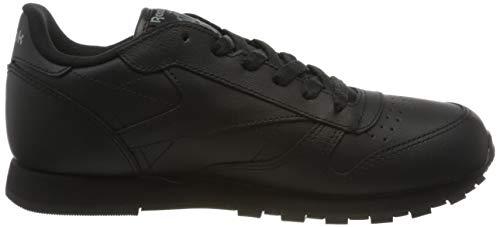 Reebok Classic Leather, Zapatillas de Running Niños, Negro (Black), 38 EU
