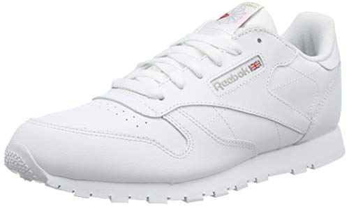 Reebok Classic Leather, Zapatillas de Trail Running para Niños, Blanco (White 0), 28 EU