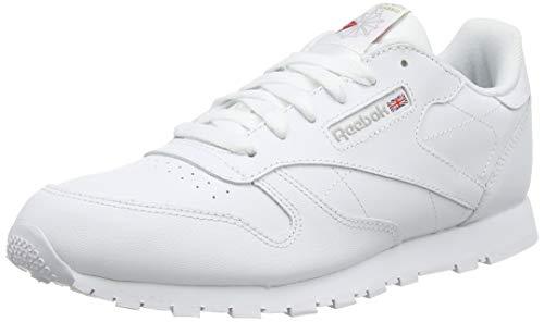Reebok Classic Leather, Zapatillas de Trail Running para Niños, Blanco (White 0), 32 EU