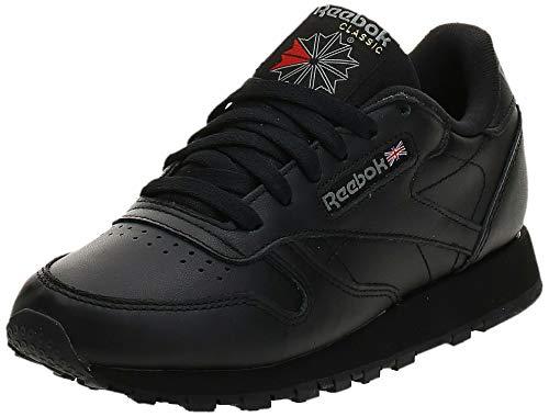 Reebok Classic Leather Zapatillas, Mujer, Negro (Int / Black), 38 EU