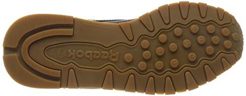 Reebok Classic Leather Zapatillas, Mujer, Negro (Int / Black / Gum), 37.5 EU