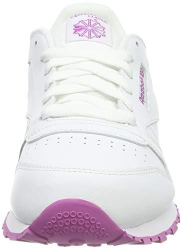 Reebok Classic Leather, Zapatillas para Mujer, Blanco (White Bs8044), 38 EU