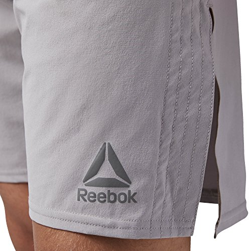 Reebok Combat Tech Woven Short Pantalón Corto, Hombre, Gris (powgry), XL