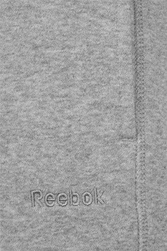 Reebok Core Cuff Sudor Pantalones para Hombre Gris Pista Pantalones de chándal para Hombre, Hombre, Gris, XL/2XL