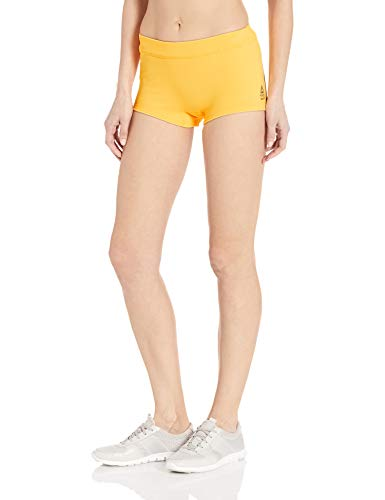 Reebok Crossfit Chase Short Corto para Mujer, Mujer, Pantalones Cortos, EMV07, Oro Solar, XXS