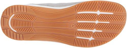 Reebok Crossfit Nano 8.0 Flexweave - Zapatillas de crossfit para hombre, Blanco (Blanco/Blanco Clásico/Excelente Rojo/Azul/Gum), 39.5 EU