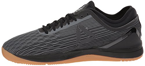 Reebok Crossfit Nano 8.0 Flexweave - Zapatillas de crossfit para hombre, Negro (negro/aleación/goma), 43 EU