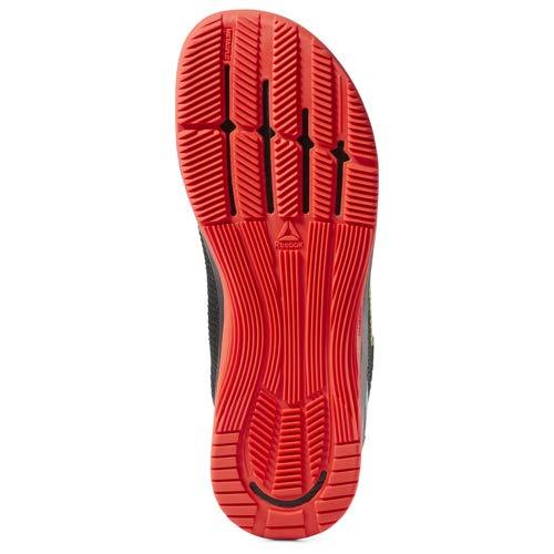 Reebok Crossfit Nano 8.0 Flexweave - Zapatillas de crossfit para hombre, Negro (Negro/Rojo Neón/Lima Neón/Blanco), 41 EU