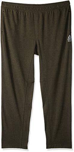 Reebok Crossfit Speedwick - Pantalón de chándal para Hombre, Color Army Green, tamaño X-Large