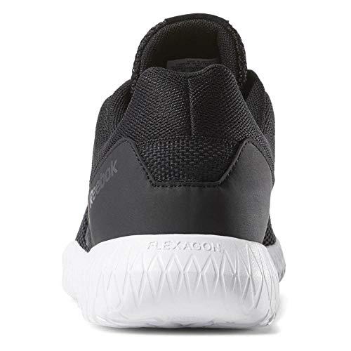 Reebok FLEXAGON Energy TR, Zapatillas de Deporte Interior para Hombre, Multicolor (Black/True Grey/White 000), 40 EU